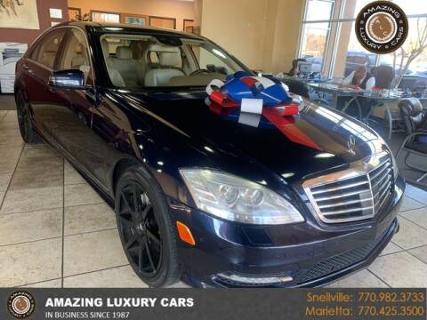 2013 Mercedes-Benz S-Class for sale at Amazing Luxury Cars in Snellville GA