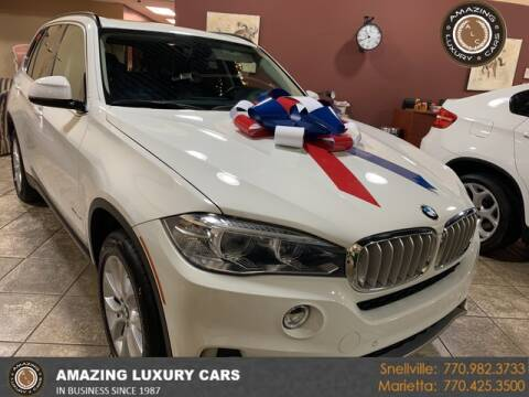 2016 BMW X5 for sale at Amazing Luxury Cars in Snellville GA