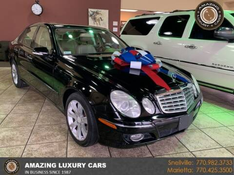 2009 Mercedes-Benz E-Class for sale at Amazing Luxury Cars in Snellville GA