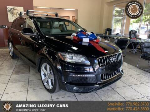 2013 Audi Q7 for sale at Amazing Luxury Cars in Snellville GA
