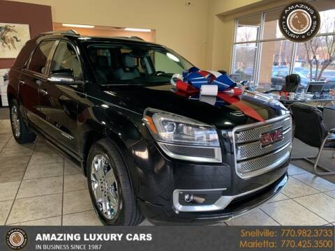 2015 GMC Acadia for sale at Amazing Luxury Cars in Snellville GA