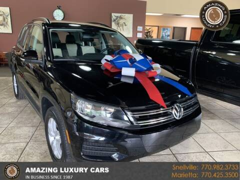 2017 Volkswagen Tiguan for sale at Amazing Luxury Cars in Snellville GA