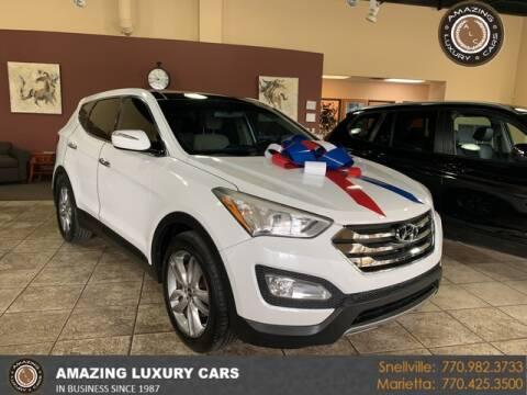 2013 Hyundai Santa Fe Sport for sale at Amazing Luxury Cars in Snellville GA