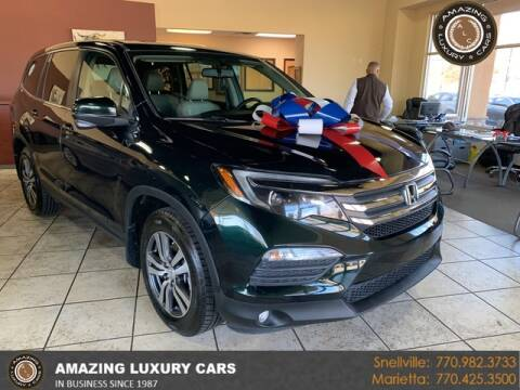 2016 Honda Pilot for sale at Amazing Luxury Cars in Snellville GA