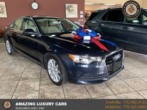 2013 Audi A6 for sale at Amazing Luxury Cars in Snellville GA