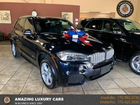 2017 BMW X5 for sale at Amazing Luxury Cars in Snellville GA