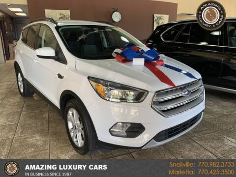 2018 Ford Escape for sale at Amazing Luxury Cars in Snellville GA