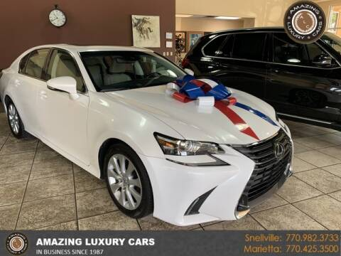 2017 Lexus GS 200t for sale at Amazing Luxury Cars in Snellville GA