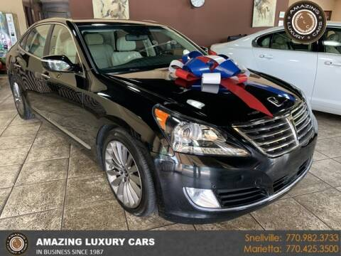 2016 Hyundai Equus for sale at Amazing Luxury Cars in Snellville GA