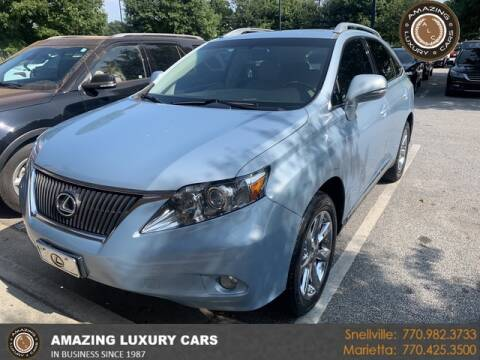 2010 Lexus RX 350 for sale at Amazing Luxury Cars in Snellville GA