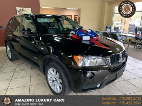2013 BMW X3 for sale at Amazing Luxury Cars in Snellville GA