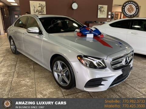 2017 Mercedes-Benz E-Class for sale at Amazing Luxury Cars in Snellville GA
