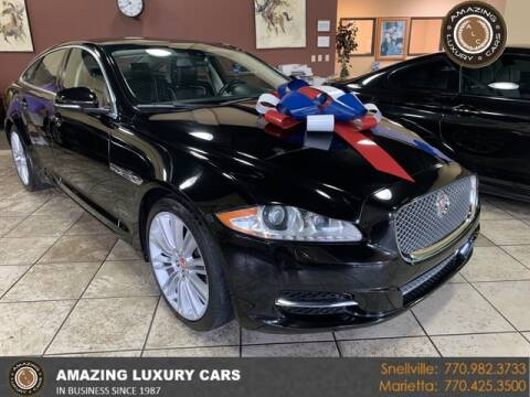 2014 Jaguar XJ for sale at Amazing Luxury Cars in Snellville GA