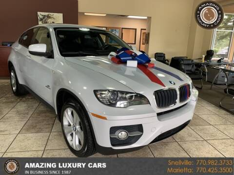 2012 BMW X6 for sale at Amazing Luxury Cars in Snellville GA