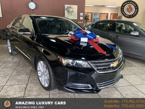 2015 Chevrolet Impala for sale at Amazing Luxury Cars in Snellville GA