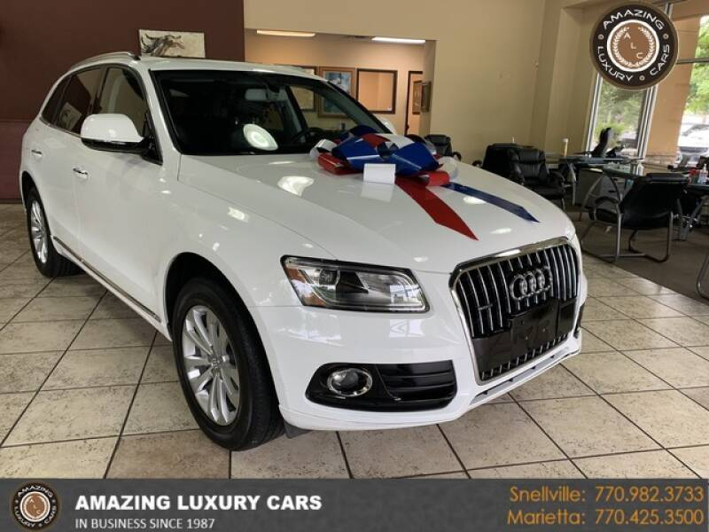 2017 Audi Q5 for sale at Amazing Luxury Cars in Snellville GA