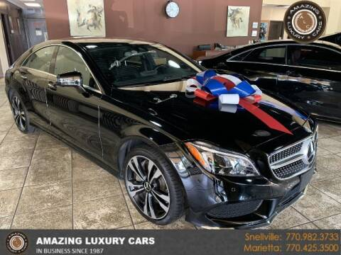 2016 Mercedes-Benz CLS for sale at Amazing Luxury Cars in Snellville GA