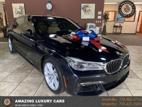 2017 BMW 7 Series for sale at Amazing Luxury Cars in Snellville GA