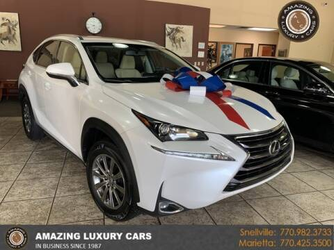 2017 Lexus NX 200t for sale at Amazing Luxury Cars in Snellville GA