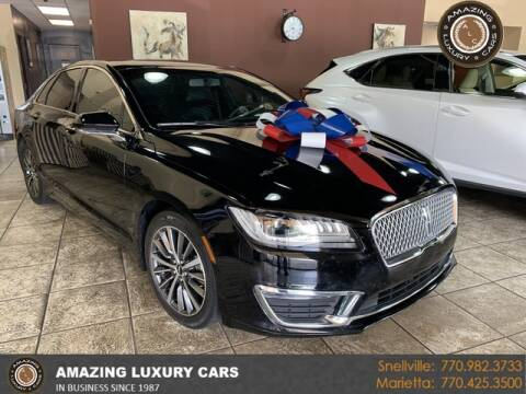 2017 Lincoln MKZ Hybrid for sale at Amazing Luxury Cars in Snellville GA