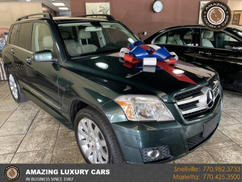 2010 Mercedes-Benz GLK for sale at Amazing Luxury Cars in Snellville GA