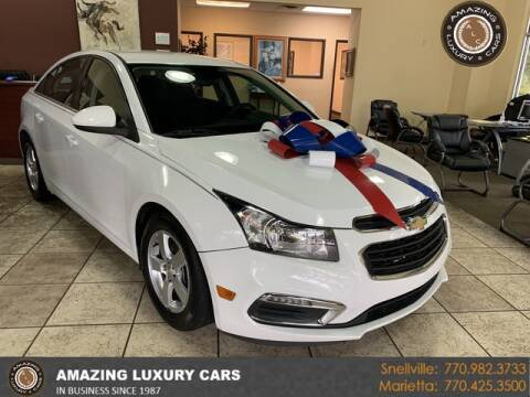 2016 Chevrolet Cruze Limited for sale at Amazing Luxury Cars in Snellville GA