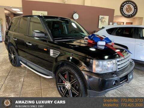 2006 Land Rover Range Rover Sport for sale at Amazing Luxury Cars in Snellville GA