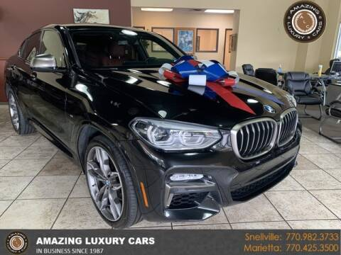 2019 BMW X4 for sale at Amazing Luxury Cars in Snellville GA