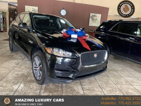 2018 Jaguar F-PACE for sale at Amazing Luxury Cars in Snellville GA