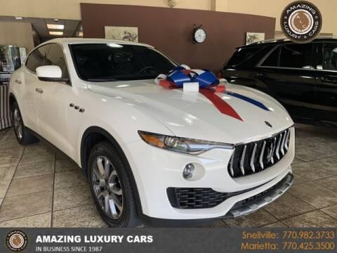 2017 Maserati Levante for sale at Amazing Luxury Cars in Snellville GA
