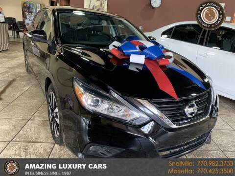 2018 Nissan Altima for sale at Amazing Luxury Cars in Snellville GA
