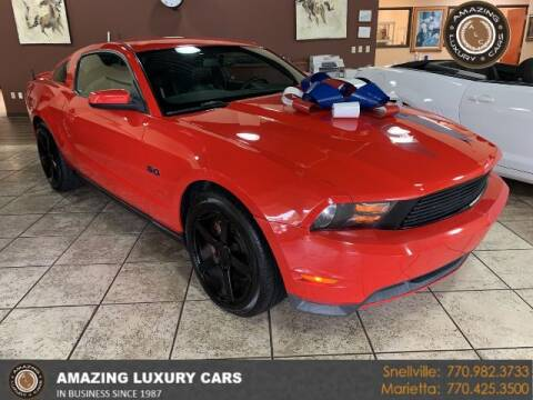 2011 Ford Mustang for sale at Amazing Luxury Cars in Snellville GA