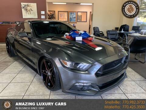 2017 Ford Mustang for sale at Amazing Luxury Cars in Snellville GA