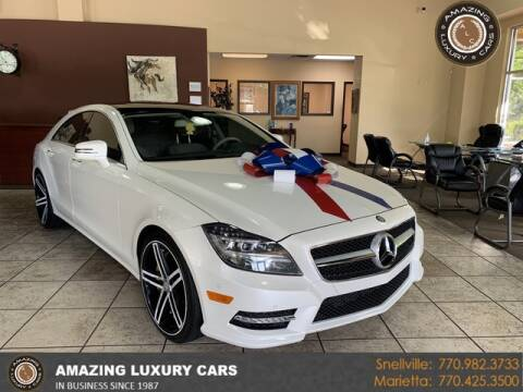 2014 Mercedes-Benz CLS for sale at Amazing Luxury Cars in Snellville GA