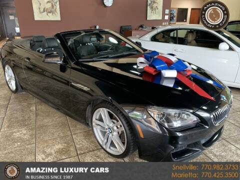 2014 BMW 6 Series for sale at Amazing Luxury Cars in Snellville GA
