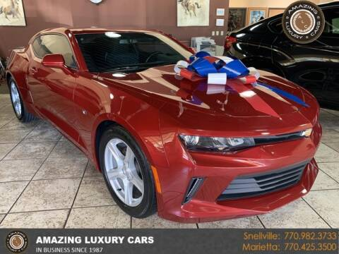2017 Chevrolet Camaro for sale at Amazing Luxury Cars in Snellville GA