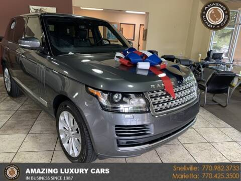 2017 Land Rover Range Rover for sale at Amazing Luxury Cars in Snellville GA