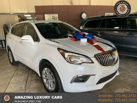2017 Buick Envision for sale at Amazing Luxury Cars in Snellville GA