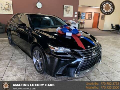 2016 Lexus GS 200t for sale at Amazing Luxury Cars in Snellville GA