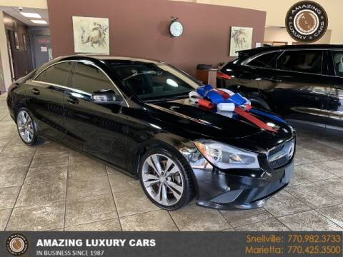 2016 Mercedes-Benz CLA for sale at Amazing Luxury Cars in Snellville GA