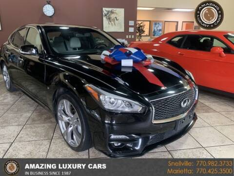 2015 Infiniti Q70 for sale at Amazing Luxury Cars in Snellville GA