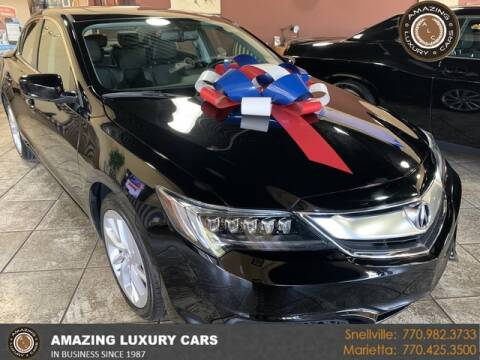 2017 Acura ILX for sale at Amazing Luxury Cars in Snellville GA