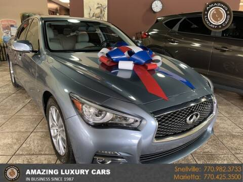 2015 Infiniti Q50 for sale at Amazing Luxury Cars in Snellville GA