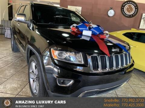 2014 Jeep Grand Cherokee for sale at Amazing Luxury Cars in Snellville GA