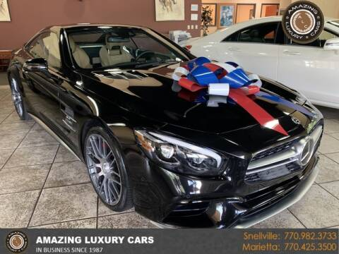 2018 Mercedes-Benz SL-Class for sale at Amazing Luxury Cars in Snellville GA