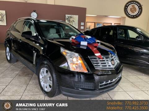 2016 Cadillac SRX for sale at Amazing Luxury Cars in Snellville GA