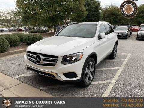 2016 Mercedes-Benz GLC for sale at Amazing Luxury Cars in Snellville GA