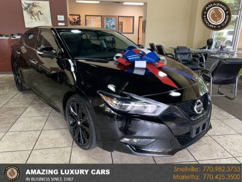 2018 Nissan Maxima for sale at Amazing Luxury Cars in Snellville GA