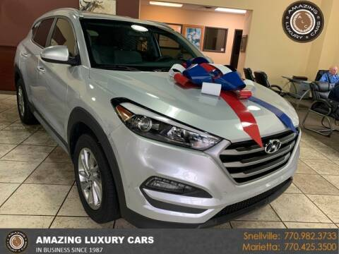 2018 Hyundai Tucson for sale at Amazing Luxury Cars in Snellville GA
