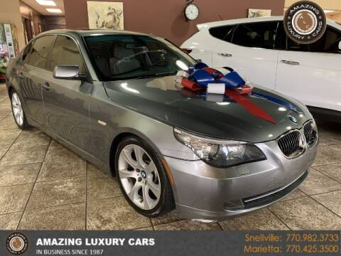 2008 BMW 5 Series for sale at Amazing Luxury Cars in Snellville GA
